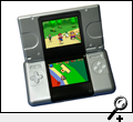 Nintendo DS with Super Mario 64x4